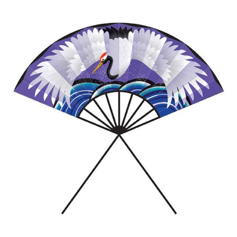 39 inch Crane on Fan Nylon Kite w/Winder by Wind-n-Sun