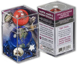 Earth, Mars & Moon to Scale Marbles - Boxed Set