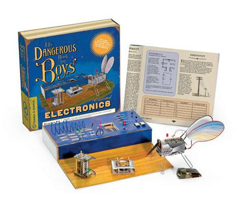 Dangerous Book For Boys Essential Electronics Kit