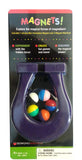 Magnetic Mini Horseshoe with 5 Magnet Marbles - Assorted Colors