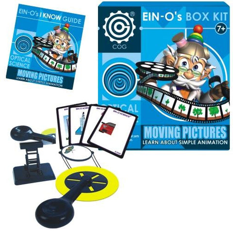 Ein-O Box Kit Optical Science Moving Pictures Experiments