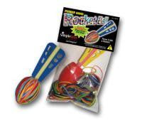 Rubber Band Powered Rocket Ball Kit Latex Free