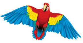"Wildlife Macaw Parrot Bird Wing Flapper Kite-50"" Wingspan"
