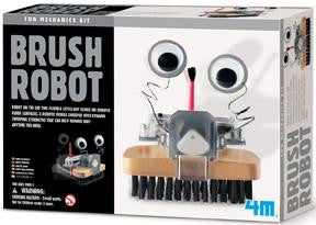 Brush Robot Kit 4M Fun Mechanics Science Project