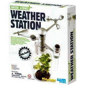 Weather Station Kit 4M Green Science Project Study Greenhouse Effect