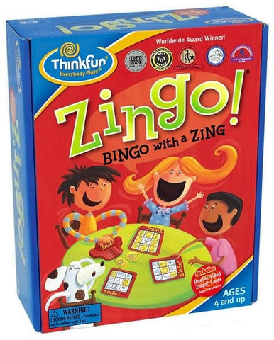 Zingo - Bingo Game with Zing - ThinkFun Toy
