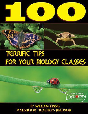 100 Terrific Tips For Your Biology Classes Teachers Book - Online Science Mall