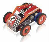 TechCard Technology Power Racer Speedster Kit Build it Yourself Racecar