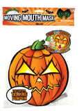 Paper Pumpkin Face Moving Mouth Mask Talking Headz