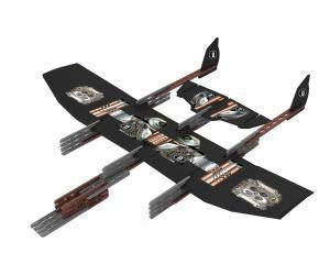 Uberstix AeroForce Glider Toy Plane Construction Kit