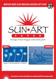 SunArt Paper 4x6; UV Sensitive Rayograph Paper KIT