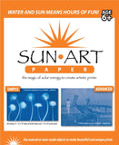 SunArt Paper 8x10; UV Sensitive Rayograph Paper KIT