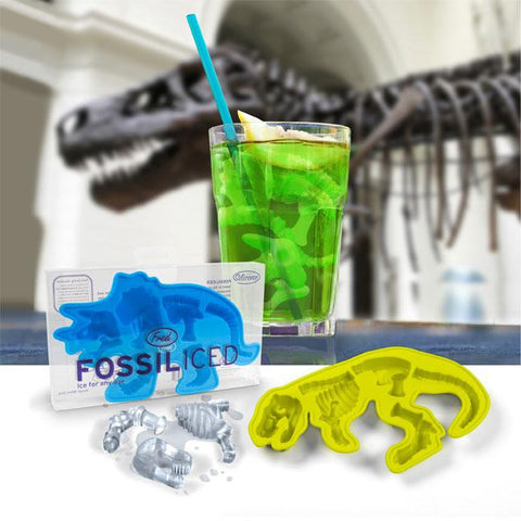 FOSSILIced Dinosaur Skeleton Ice Cube Tray Mold from Fred