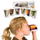 Set of 24 Pick Your Nose Party Animal Drink Cups from Fred