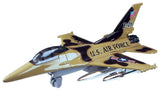 USAF Military Air Force Jet Model - Pull Back Action 7 Inch Airplane Styles Vary