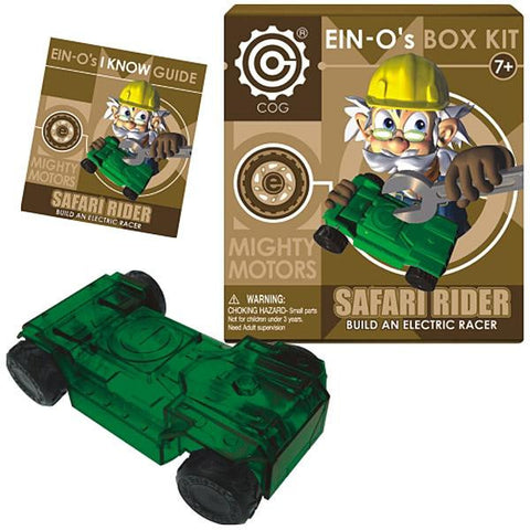 EIN-O's Mighty Motor: SAFARI RIDER Electric Racer Box Kit