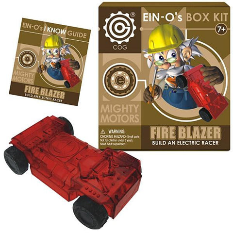 EIN-O's Mighty Motor: FIRE BLAZER Electric Racer Box Kit