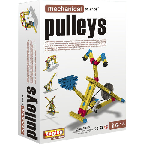 Engino Mechanical Science Building Kit: PULLEYS Education Toy