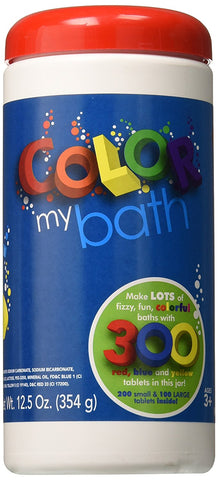 Color My Bath Tablets 300 Pack