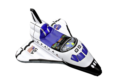 Aeromax Jr. Space Explorer - Inflatable Space Shuttle Float