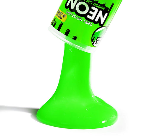 Compound Kings Neon Squishy Like Slime Jar in Assorted Colors