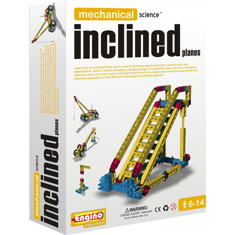 Engino Mechanical Science Building Kit: INCLINED PLANES Education Toy