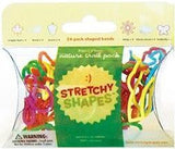 NATURE TRAIL Stretchy Shapes: Rubber Band Bracelets 24 Pack