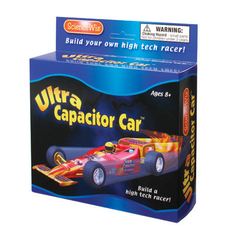 Science Wiz: Ultra Capacitor Car Experiment Kit for Ages 8+