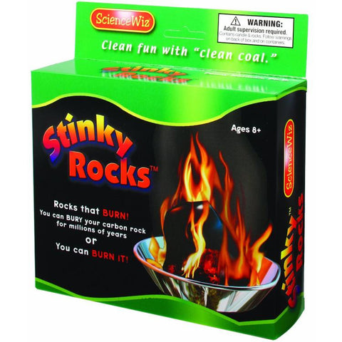 Science Wiz: Stinky Rocks Green Science Energy From Minerals