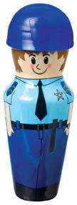 Mini Hero Bubbles: Police Officer