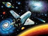 Outer Space Puzzle 100 Super pieces by Ravensburger