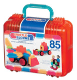 85pc Bristle Blocks Builder Set w/Storage Case