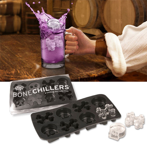 Bone Chillers: Skull and Crossbones Ice Cube Tray Mold from Fred