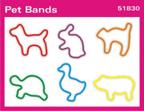Pet Animal: Faith Bands Rubber Band Bracelets 12pk
