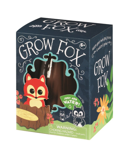 Woodland Grow Critter Set of 2 Animals - Hatch Fox and Owl