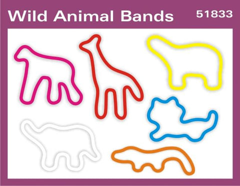 Wild Animal: Faith Bands Rubber Band Bracelets 12pk