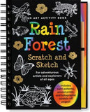 Scratch and Sketch Rain Forest Art Activity Book