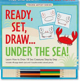 Ready, Set, Draw, Under The Sea Art Activity Book