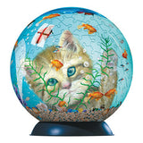 6 inch 3D Kitty Puzzle Ball 240 pieces  by Ravensburger