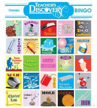 Chemistry BINGO by Teacher's Discovery