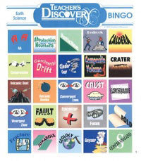 Earth Science BINGO by Teacher's Discovery