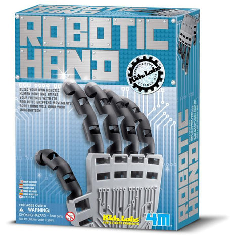 Build Your Own Robotic Hand Kidz Labs Science Kit by 4M