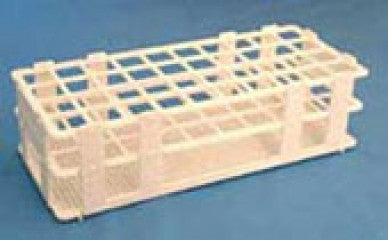 21 Place Wet/Dry Test Tube Rack w/ 30mm holes