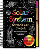 Scratch and Sketch Solar System Art Activity Book