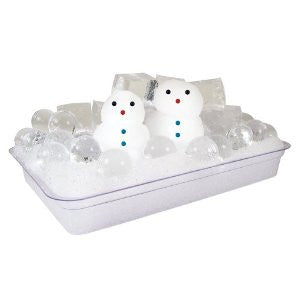 Make Your Own Snowman World  Polymer Kit