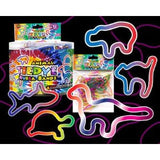 Tie Dye Animal Rubba Bandz Rubber Band 12pk
