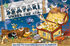 Seafari Under The Sea Childrens' Board Game