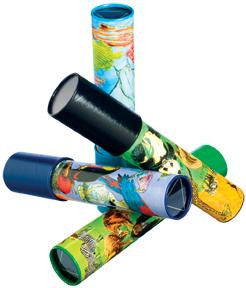 9 inch Classic Kaleidoscope Viewing Toy: NATURE VISION Design