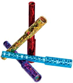 Teenie Weenie Kaleidoscope Viewer Toy: Crystals-O-Color Pack of 4
