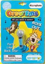 Grow'Ems Rock Out Microphone: Collectible Magic Growing Thing